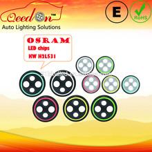 """Qeedon E-mark DOT 7'' round OSRAM chips 7"""" led headlight, led car light for land rover defender 110"""