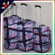 Fashionable New design Nylon 3 piece luggage sets