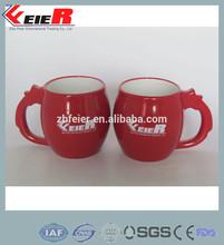 Red ball shape Mug