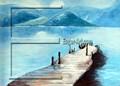 Moderna del paisaje de la pintura de la pintura al óleo fabricación ( Eager arte )
