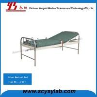 Steel folding Psychiatric hospital restraint bed for patients
