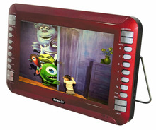 2015 year 10.1 inch high definition car dvd player with LED screen and FM and USB