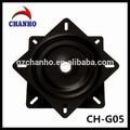 Buena calidad del eslabón giratorio de metal placa giratoria rodamiento mecanismo ch-g05-2