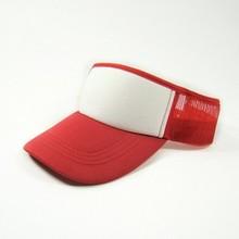 mesh sun visor caps,summer cap hat custom logo