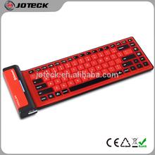 86 keys bluetooth silicone rubber keyboard---JK86
