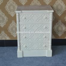 knock down living furniture oem/odm 4 drawer teak wood filing cabinet for wholesales