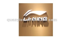 2012 customized famous acrylic brand sign