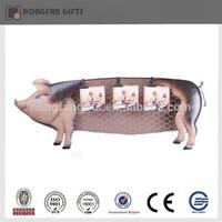 decorative metal pig animal