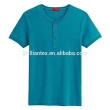 couple placket front t-shirt custom plain dyed t shirt you want t shirt blank t-shirt printing