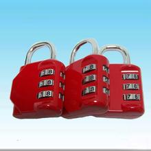 3-dial combination lock,combination padlock