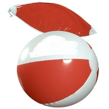 Promotional pvc inflatable branded beach ball