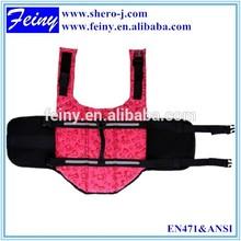 safety vest dog with ENISO 20471 hi viz reflective tape with multicolor/multitudinous