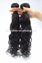 fast shipping Indian virgin hair natural wave human hair extension with drop shipping