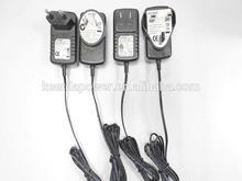 USA CN EU UK AU type 5V 1.2A AC DC regulated dc power supply