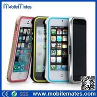 Shengo 2 in 1 Hybrid Metal Alloy +TPU Bumper Case for iPhone 5 /5S for iPhone 6 /6 plus for iPhone 4/4S
