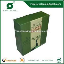CUSTOM PRINTED OLIVE OIL PACKING BOX