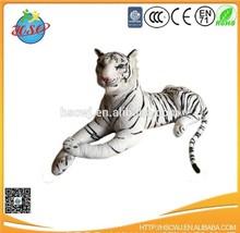 gold supplier big tiger stuffed plush tiger toy