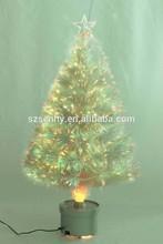 HOT SELLING pvc small fiber optic christmas tree