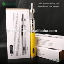 e-cigarette battery wholesale china GS EgoII Twist Mega Kit ladies electronic cigarette
