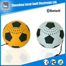 mini soccer bluetooth speakers for mobile phone/ ipad/ipod