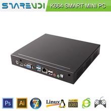 Quad core ubuntu mini pc embedded desktop PC computer 64 bit wireless supports 3G modem