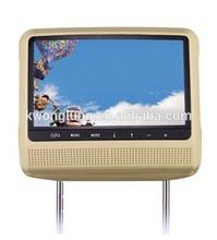 "9"" HD Digital car accessories car Headrest Monitor DVD Player"
