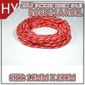 sintética trançada dupla vermelha barcos a vela corda 10mm 200m x