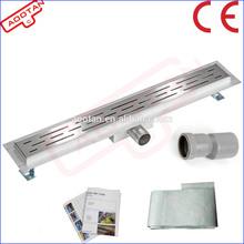 Stainless steel shower drain , linear shower drain , shower floor drain