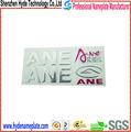 A medida de alta calidad 3d etiqueta de plástico blando/logotipo