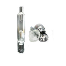 Water Vaporizer Pipe Tank Glass Water Bongs Pipe for wax dry herb fit ego ego-t ego-q battery