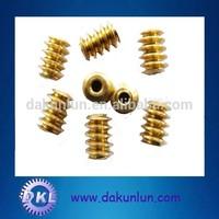 Standard or non-standard mini worm gear