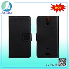High Quality Flip Leather Case For Sony Ericsson Mini St15i