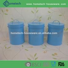 Hot salable embossed sugar coffee tea round food jars