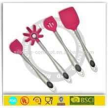 Restaurant Cooking Pot silicone pink kitchen utensils