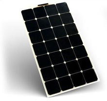 Flexible 80 Watt Solar Panel ETFE, PET,PCB,Fiberglass, Aluminum flexible solar panel