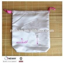 2015 China Price Quality custom silk drawstring bags/silk drawstring bag/silk drawstring lingerie bag
