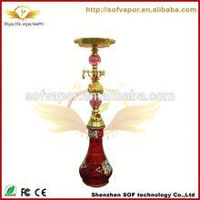 big e-hookah refillable hookah shisha pen skyline mod wholesale electronic glass hookah