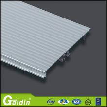 european internal PVC polystyrene waterproof flooring accessories laminate aluminum skirting board