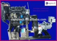 10m3/min stationary type diesel cement compressor for cement trailer; bulk cement compressor