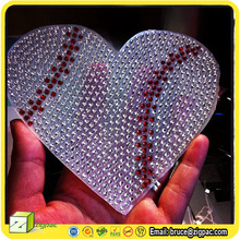 RS001193,gel rhinestone sticker,car rhinestone decals