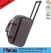 Travelers Club 40L Rolling Duffel Bag With Trolley