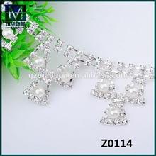 wholesale SS12 crystal rhinestone trim cup for garments embellishments Z0114