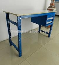 MDF Wood Platform Board Steel Work Bench with Drawers