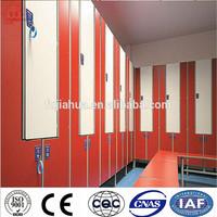 Compact laminate spa locker lock
