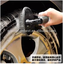 High quality soft grip hand hold plastic car wash brush