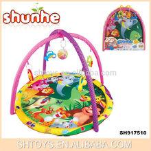 Top selling baby toys baby gym plush carpet custom play mat