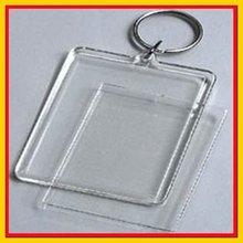 2012 New Photo Frame Blank Acrylic Keychain