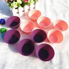 Hot sale wholesale silicone cupcake bakingware&colorful food grade silicone cupcake bakingware