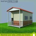cabine de conteneurs préfabriqués avec un design moderne