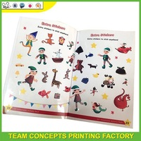 Reusable sticker book for kids activity